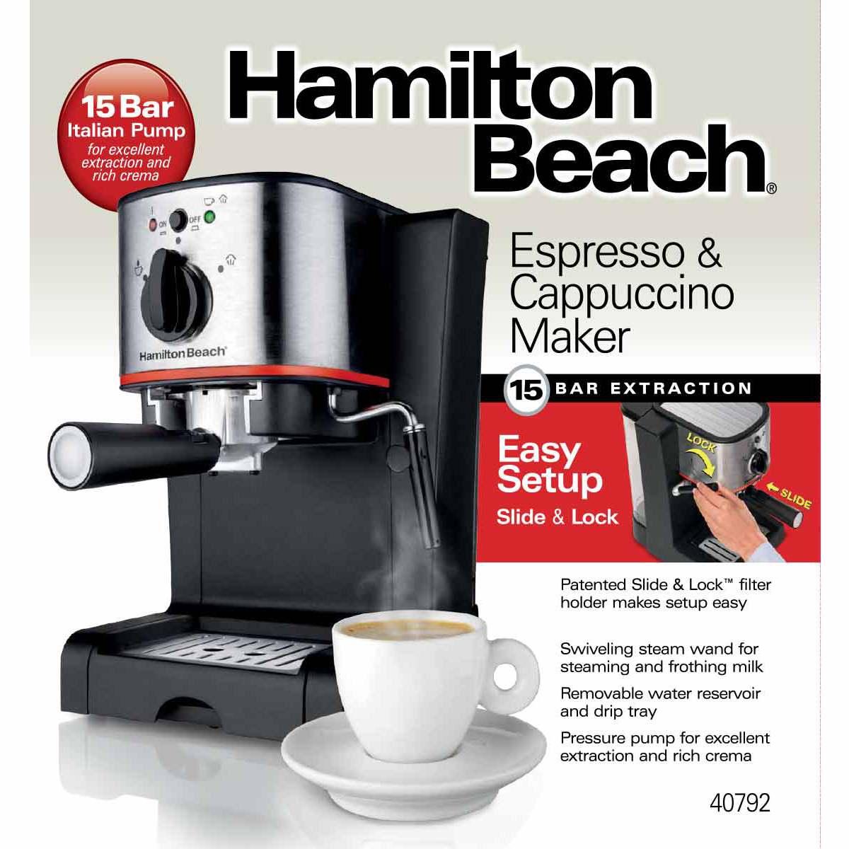 hamilton beach model 40715 manual