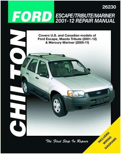 ford escape 2003 repair manual