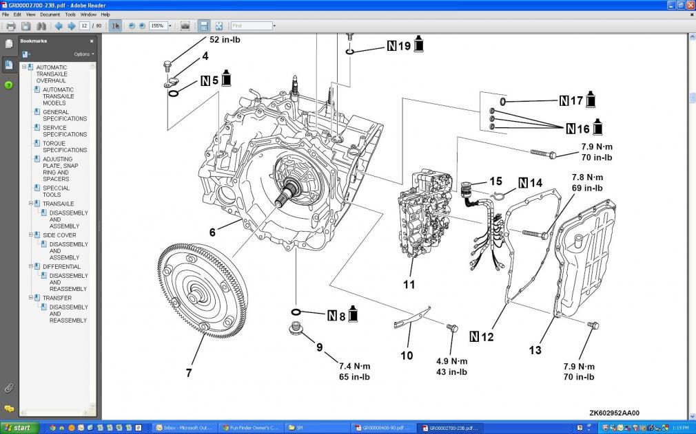 07 civic manual transmission drain plug