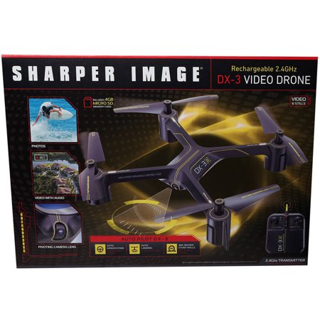 sharper image dx 1 micro drone quadcopter instruction manual