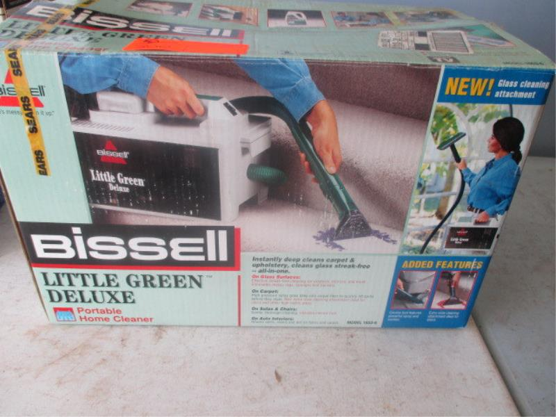 bissell little green deluxe manual