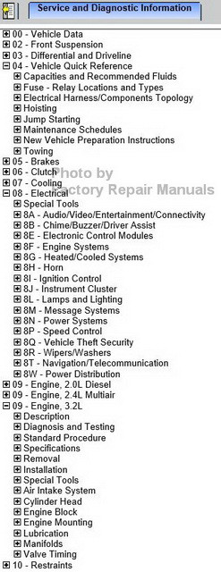 2014 jeep grand cherokee factory service manual cd