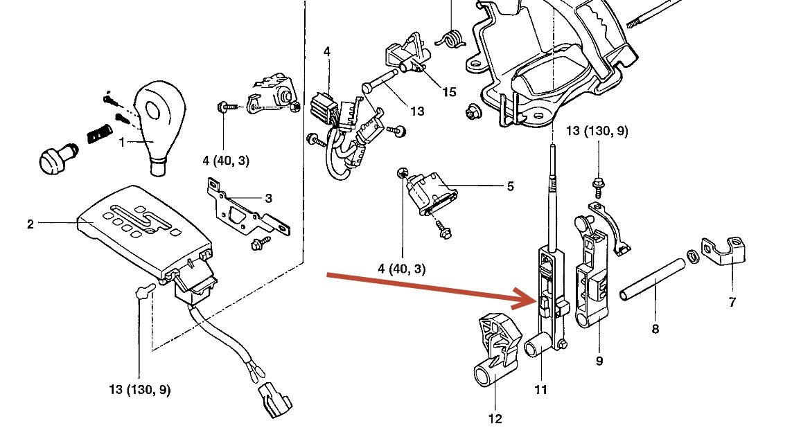 2009 hyundai elantra touring manual transmission gear diagram