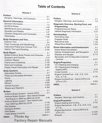 2014 gmc sierra technician rebuild maintenance manual