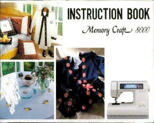 janome memory craft 8000 manual free download