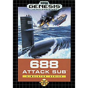 688 attack sub sega manual download