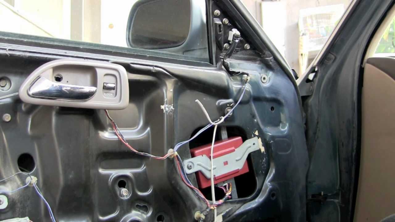 2005 corolla door panel removal manual windows