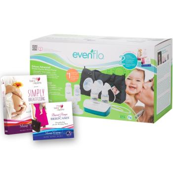 evenflo breastfeeding dual electric breast pump instruction manual