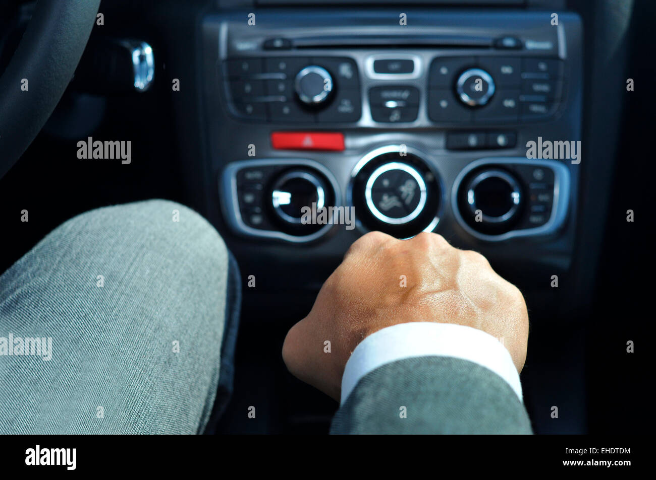 driving manual transmission car uphill
