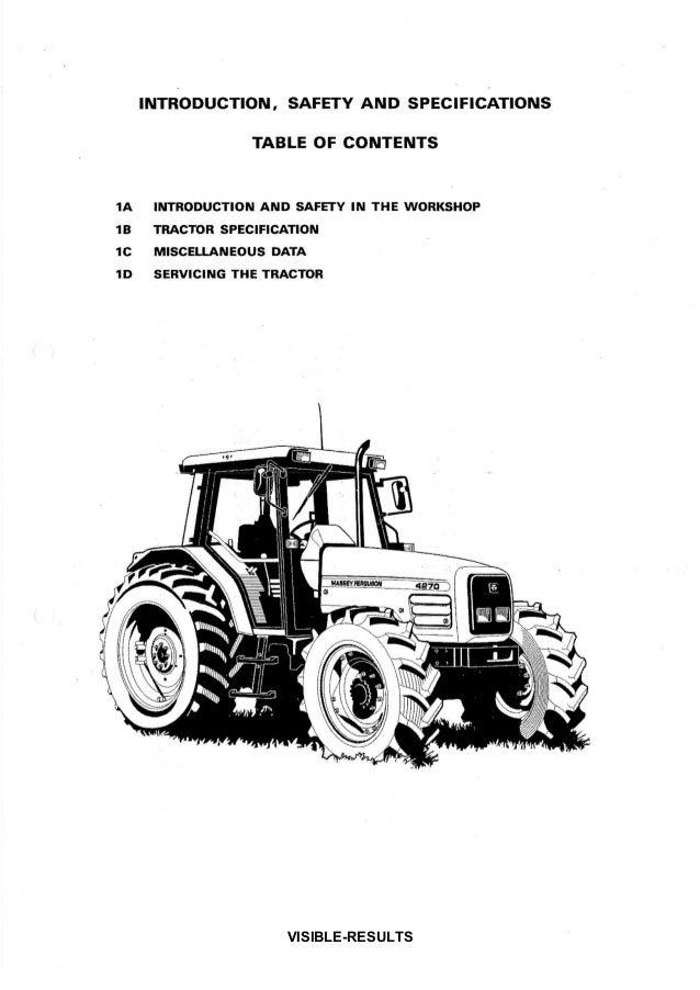 massey ferguson 4255 workshop manual
