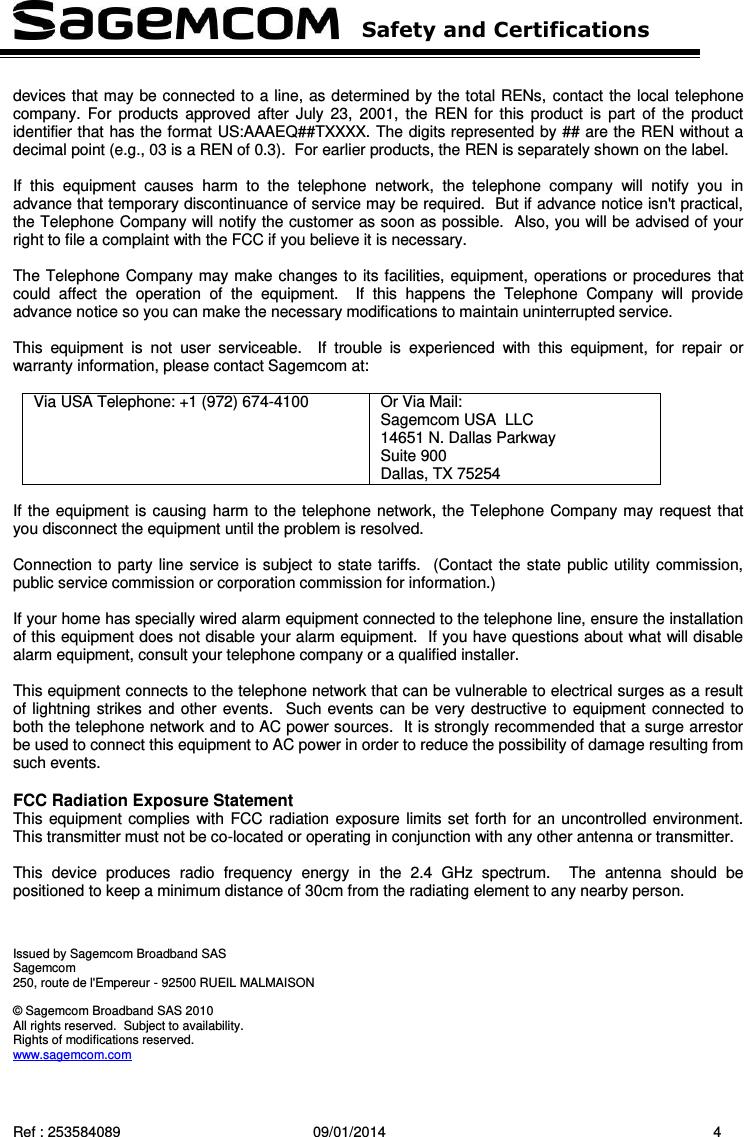 sagemcom fast 4350 manual pdf