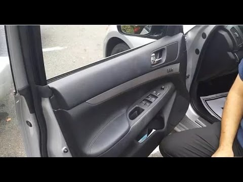 can i change a power window door to a manual