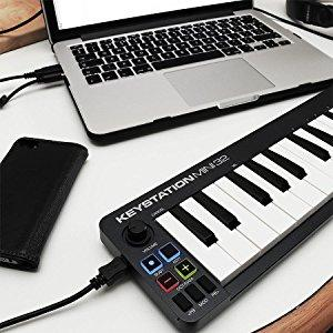 m-audio keystation mini 32 ii manual