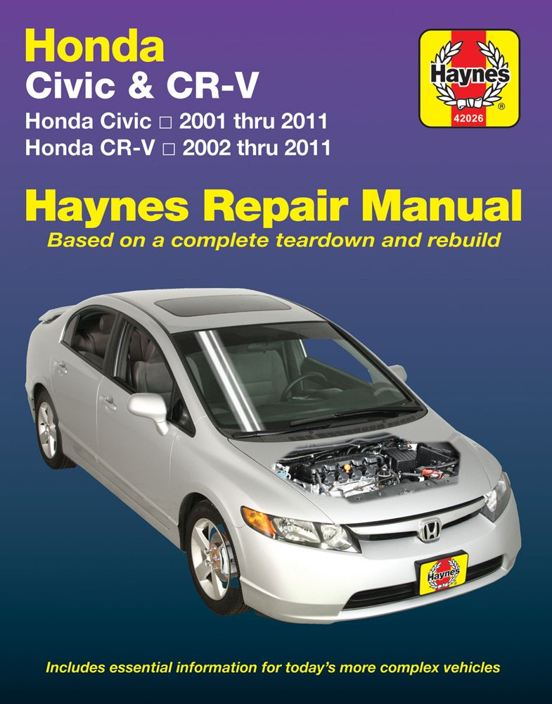 honda civic 2014 haynes manual
