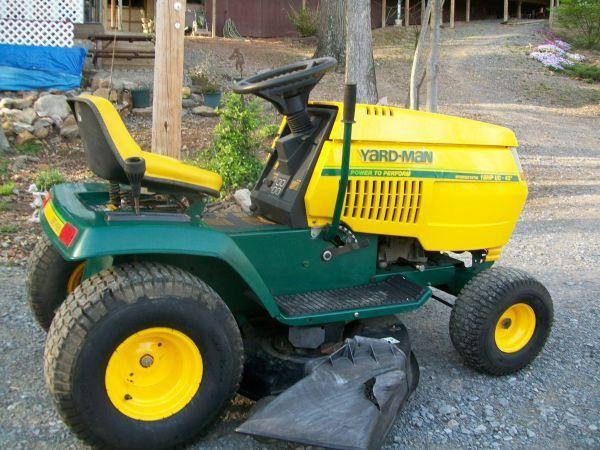 yardman 18 hp mower manual