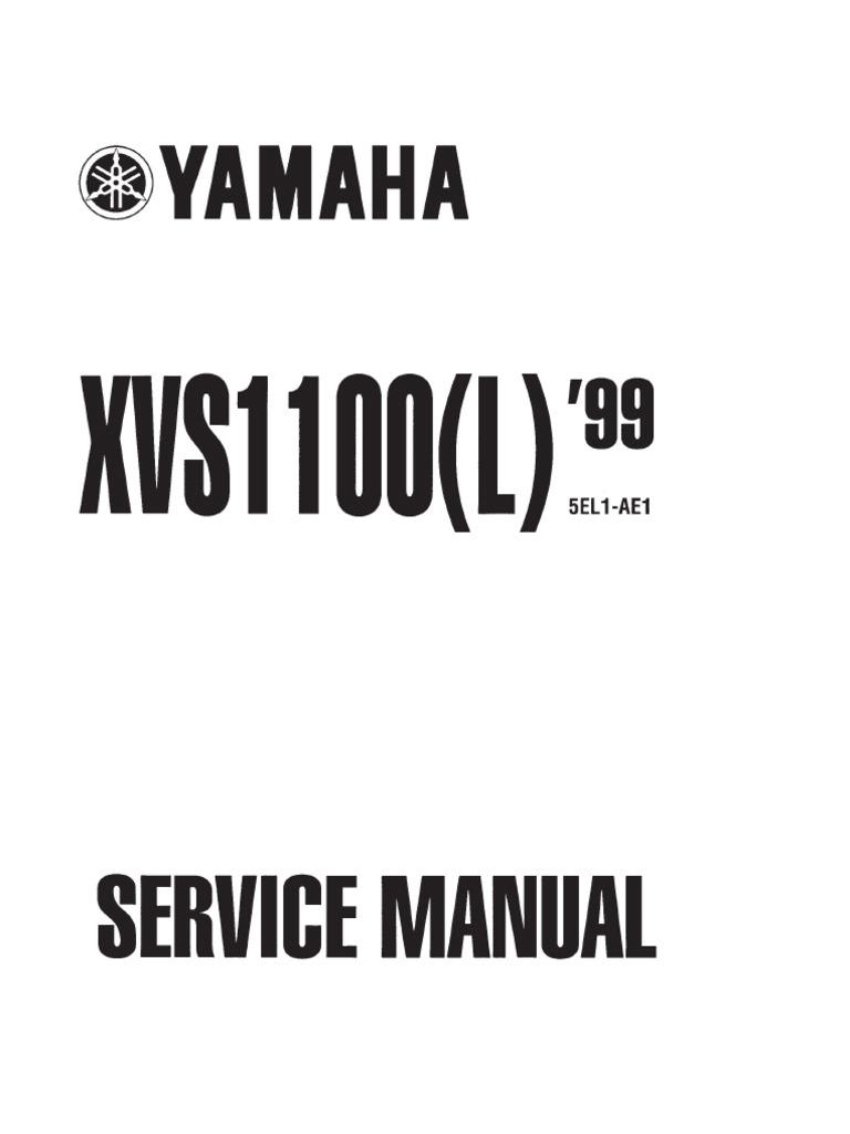 2001 v star 1100 manual