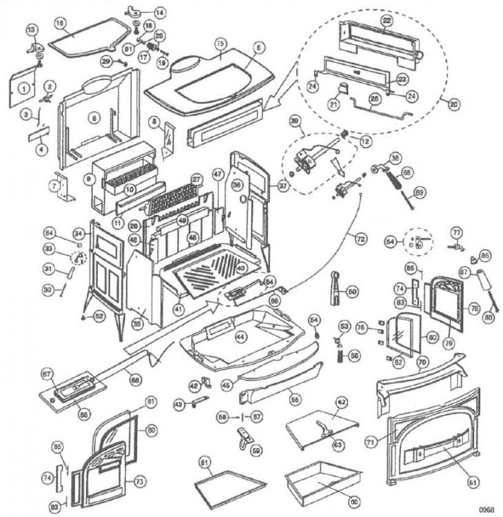 jotul wood stove insert manual