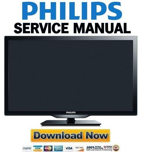 philips tv 40pfl4609 f7 manual