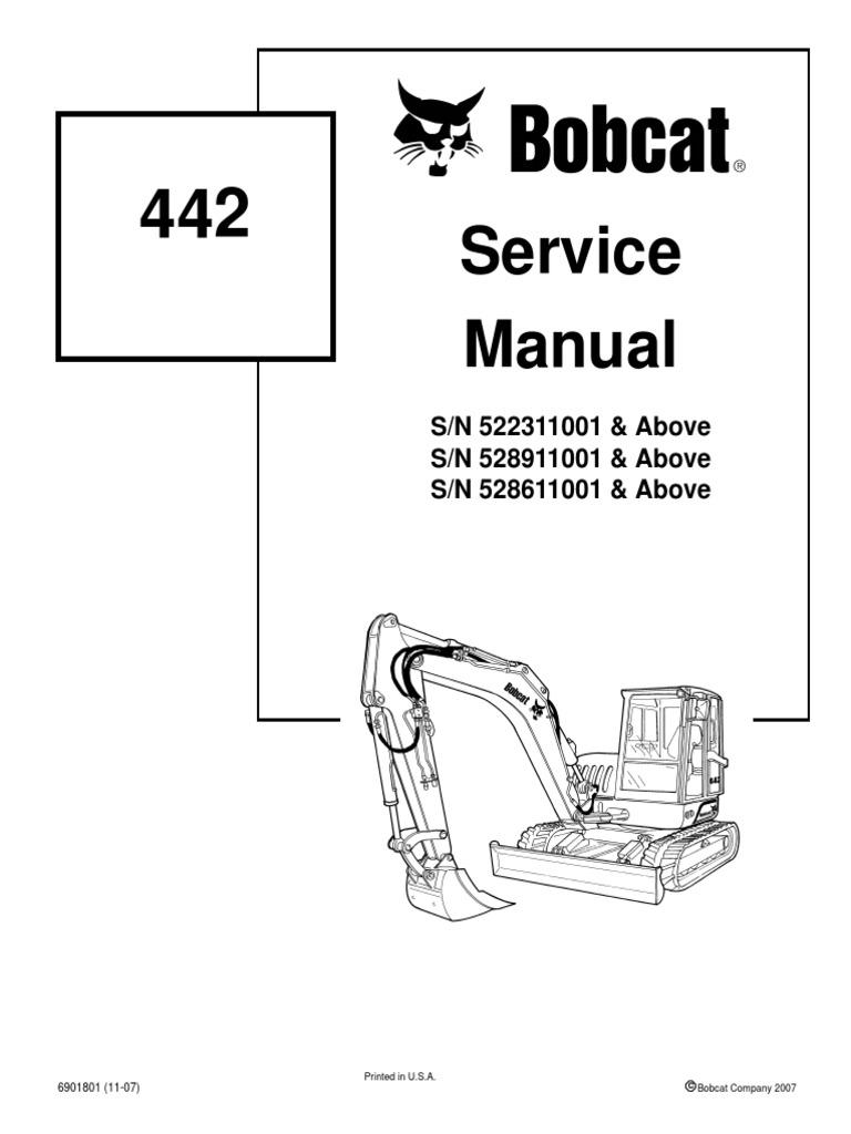 bobcat 753 parts manual download
