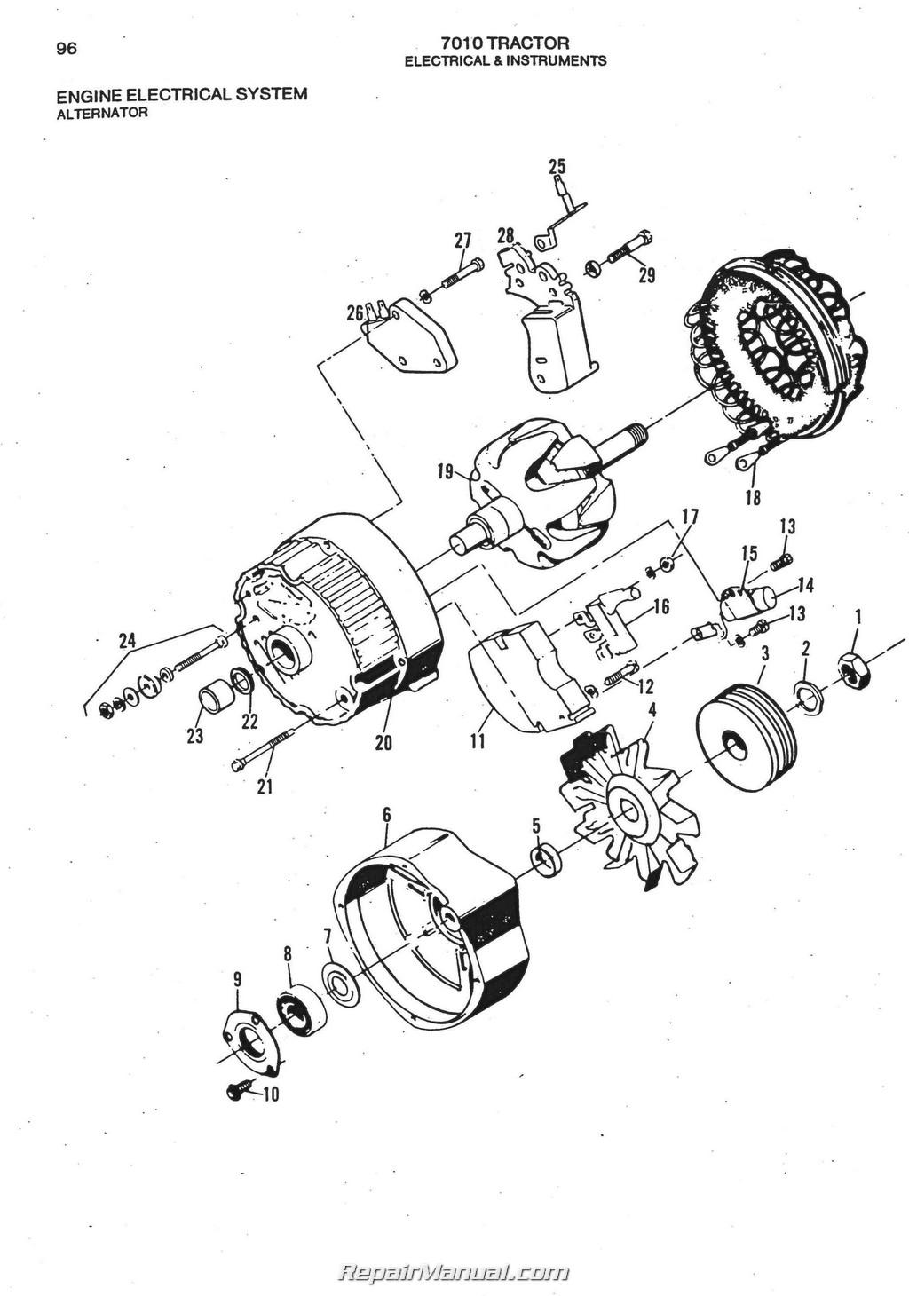 716 allis chalmers parts manual