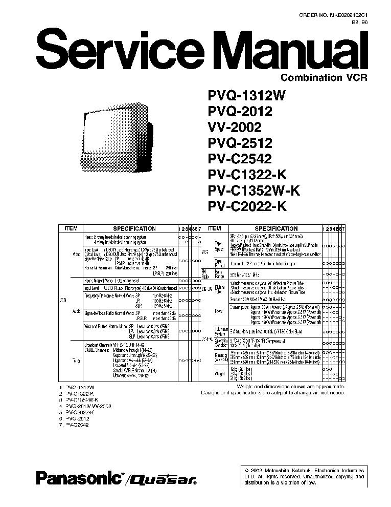 panasonic sd-yd250 repair manual