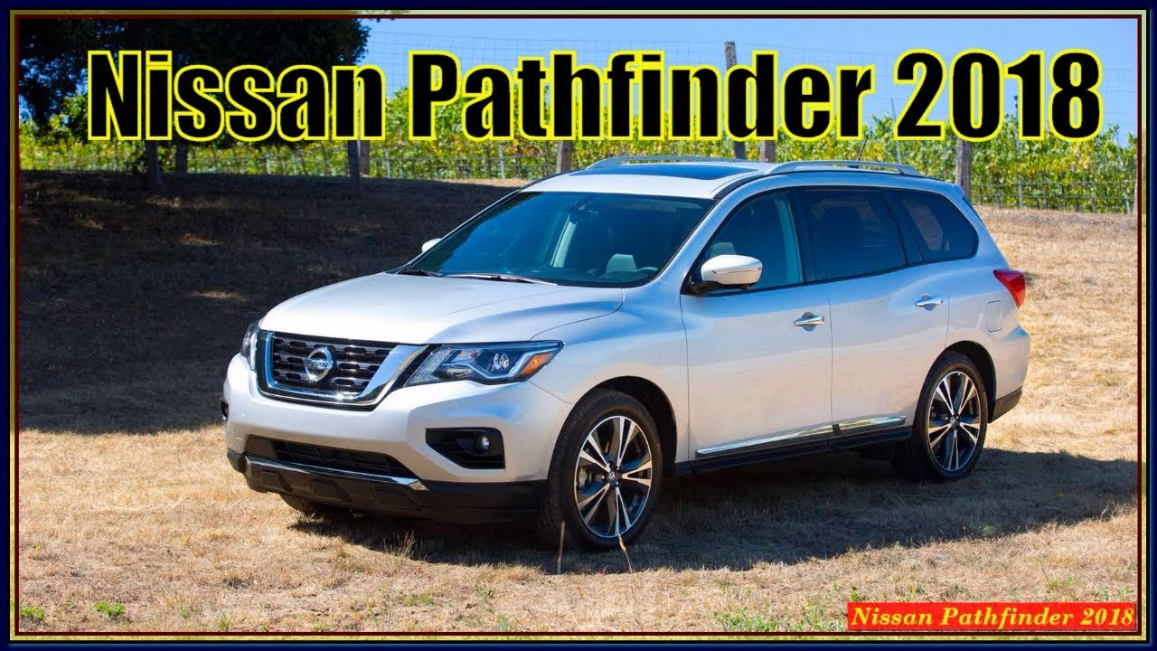 2018 nissan pathfinder platinum manual