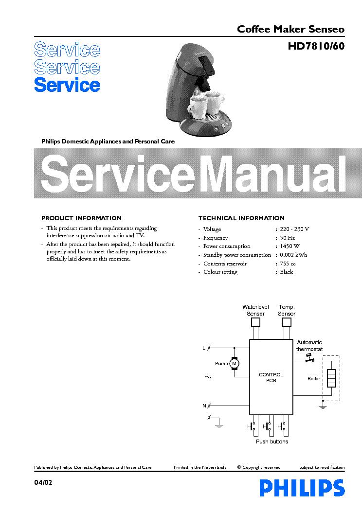 miele coffee maker repair manual