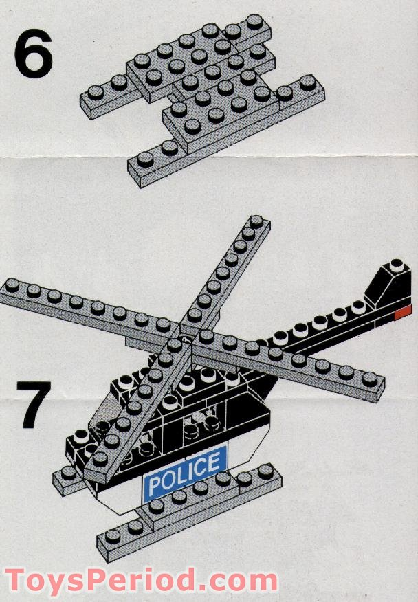 police helicopter lego 30222 manual