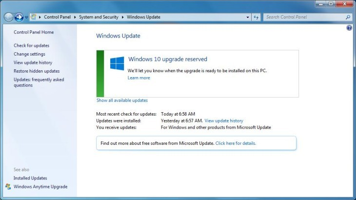 how to update windows 7 to windows 10 manually