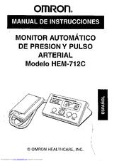 omron hem-711dlx user manual