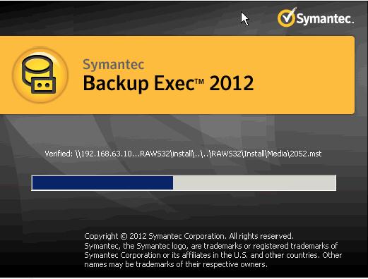 install backup exec remote agent manually