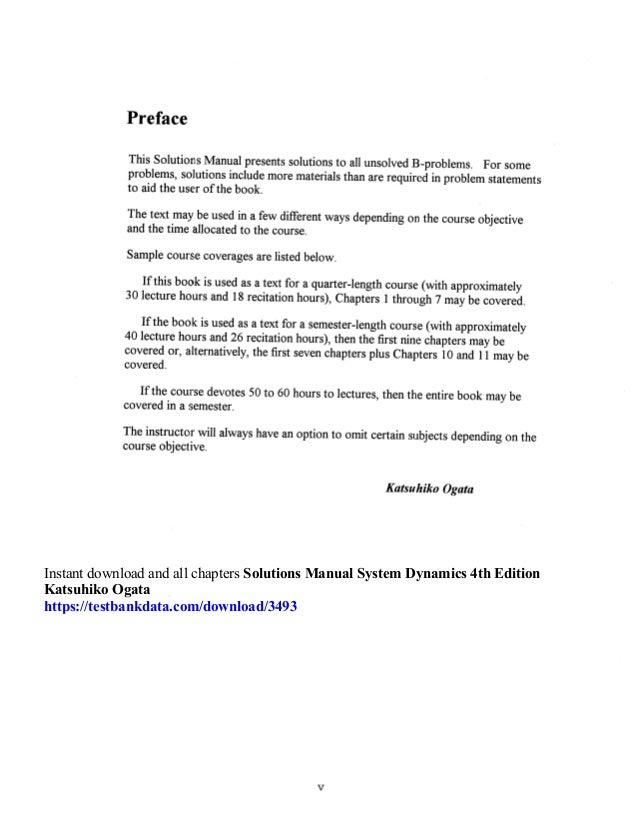 system dynamics solution manual pdf