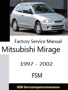 mitsubishi mirage 2014 workshop manual