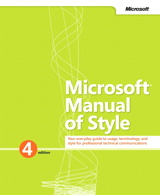microsoft manual of style certification