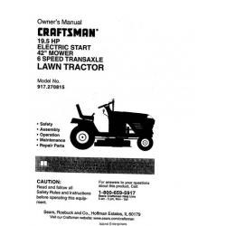 sears 944 lawn mower manual