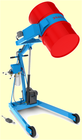 55 gallon drum manual lift