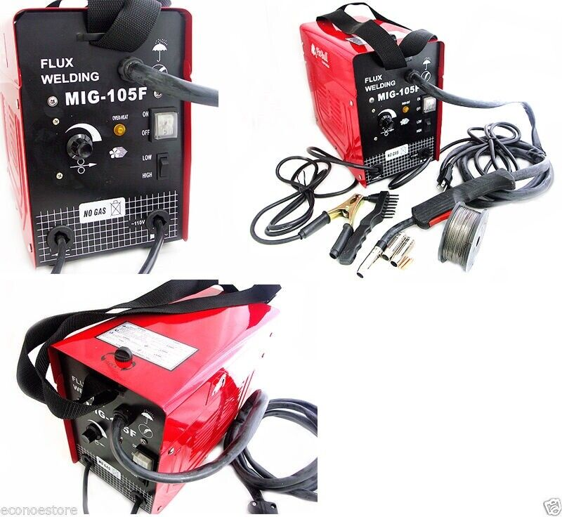 manual for a mig105 flux core wire mig welder