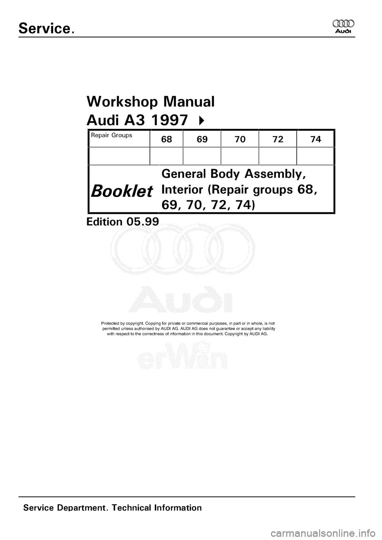 audi a4 2007 workshop manual pdf