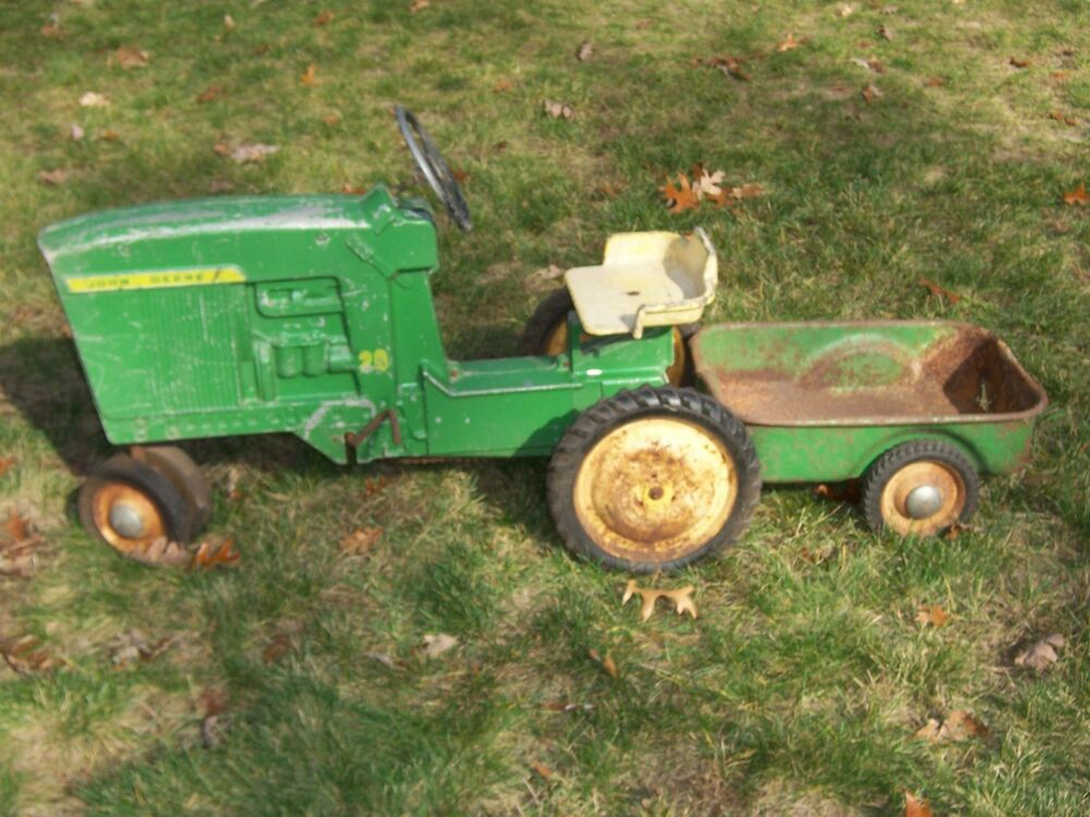 john deere pedal tractor with trailer manual