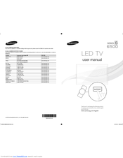 samsung led tv series 56 e-manual