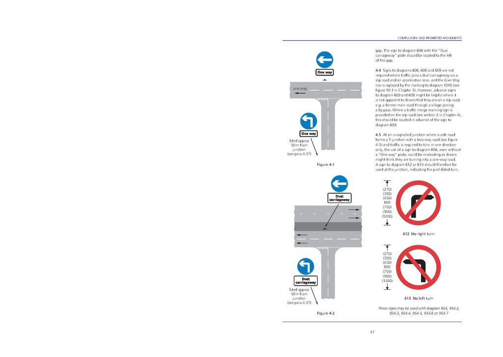 uk traffic signs manual chapter 1