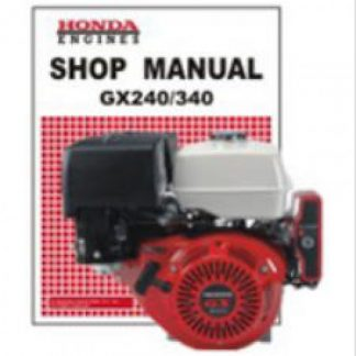 honda gx120 gx160 gx200 owners manual