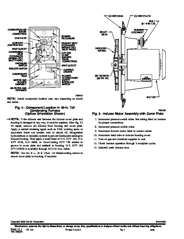 carrier furnace infinity 96 manual