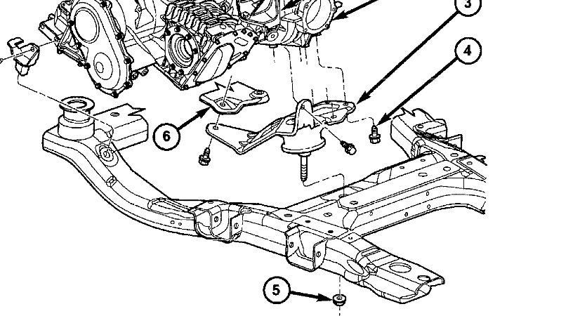 how to remove front lower engine mount elantra 2007 manual