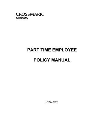 red cross canada policy manual