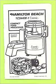 hamilton beach food processor 70730c manual