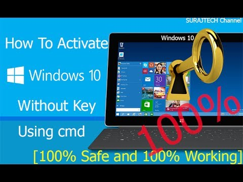windows 10 how to manually remove activate windows