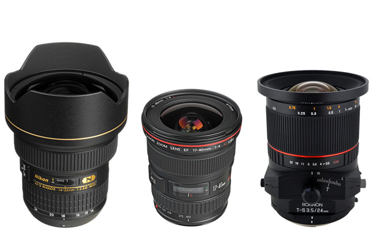 manual wide angle lense for canon