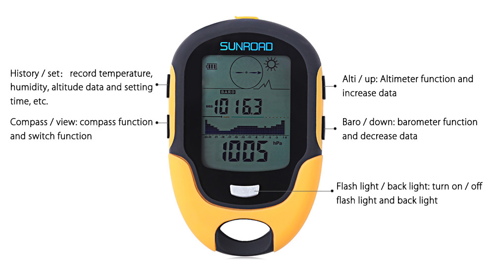 manual min max thermometer with memory