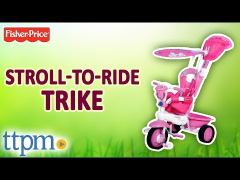 fisher price smart trike manual